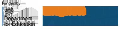 DfE and English Hubs logo